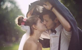beau mariage pluvieux