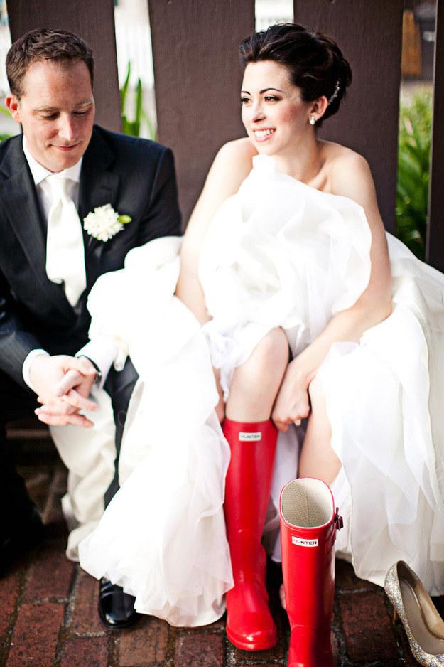 bottes mariage