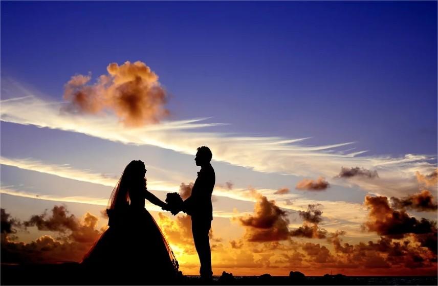 Coucher De Soleil Mariage Mariée - Photo gratuite sur Pixabay - Google Chrome